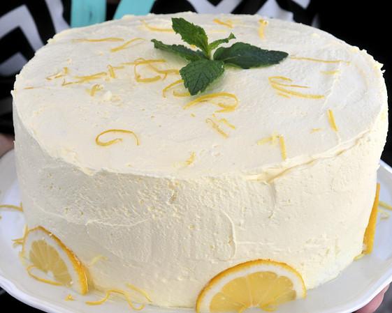 Wild Oaks BBQ dessert - Lemon Cake (Staff Photo by BONNIE VCULEK)