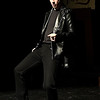 "Cooper Blodgett rehearses the Eind High production of ""All Shook Up"" Wednesday April 19, 2017 at the Enid High School auditorium. (Billy Hefton / Enid News & Eagle)"