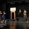 """Members of the Eind High production of """"All Shook Up"""" rehearse Wednesday April 19, 2017 at the Enid High School auditorium. (Billy Hefton / Enid News & Eagle)"""