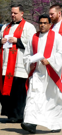 Priests on the Move