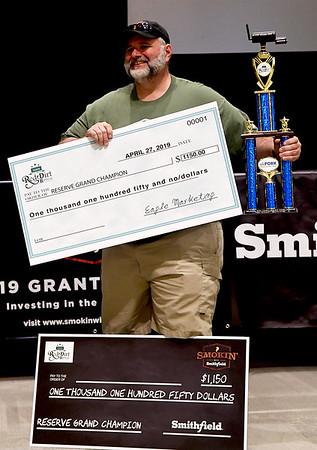 BBQ Reserve Grand Champion
