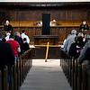Enid Ecumenical Good Friday service at the First Presbyterian Church. (Billy Hefton / Enid News & Eagle)
