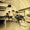Atomic Bomb Fallout Shelter (Staff Photo by BONNIE VCULEK)