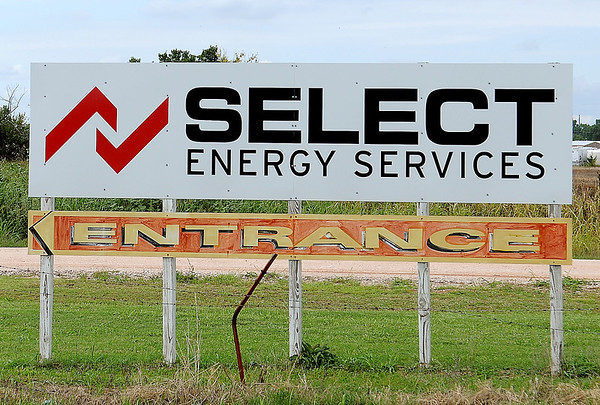 Select Energy Services at 5110 E. Owen K. Garriott Road is currently hiring additional CDL drivers. The company has three locations in Enid and plan to consolidate and expand operations at the industrial park. (Staff Photo by BONNIE VCULEK)