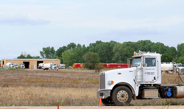 Select Energy Services at 5110 E. Owen K. Garriott Road is currently hiring additional CDL drivers. The company currently has three locations in Enid and plan to consolidate and expand operations at the industrial park. (Staff Photo by BONNIE VCULEK)