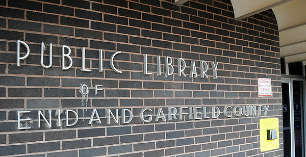 The Public Library of Enid and Garfield County will close for ten days later this month for cleaning and maintenance. (Staff Photo by BILLY HEFTON)