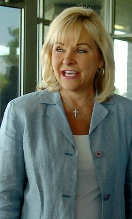 Oklahoma Gov. Mary Fallin (Staff Photo by BONNIE VCULEK)