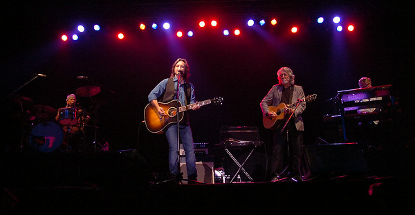 The Nitty Gritty Dirt Band performs at the Enid Event Center Friday, August 01, 2014. (Staff Photo by BONNIE VCULEK)