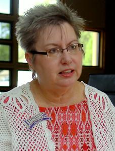 Julie Baird, executive director of Leonardo's Children's Museum in Enid, Okla. (Staff Photo by BONNIE VCULEK)