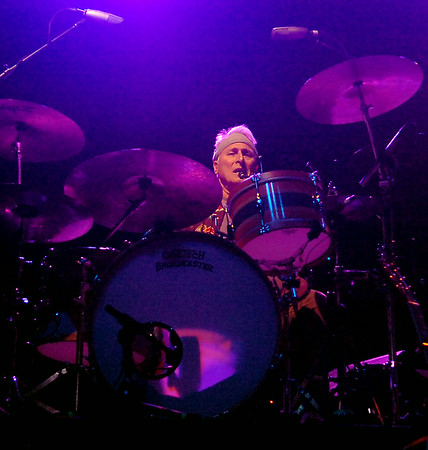 Nitty Gritty Dirt Band's Jimmie Fadden performs during the band's 2014 concert tour at Enid Event Center Friday, August 01, 2014. (Staff Photo by BONNIE VCULEK)