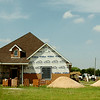 Construction continues on a new home in the 2600 block of North Oakwood Road Wednesday, August 27, 2014. (Staff Photo by BONNIE VCULEK)