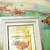 "Ruth Monro Augur's mural ""The Cattle Trail"" at the Garfield County Courthouse (Staff Photo by BONNIE VCULEK)"