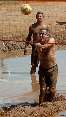 Enid Miracle League Mud Volleyball Tournament (Staff Photo by BONNIE VCULEK)