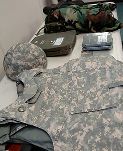 All military personnel at Vance Air Force Base receive special gear from the Logistics Readiness Squadron before they are deployed. (Staff Photo by BONNIE VCULEK)