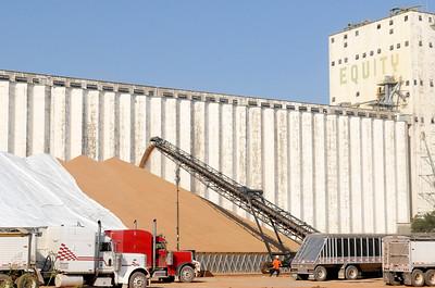 ADM Exterior Grain Storage