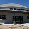 M.L. Becker Learning Center at the Woodring Wall of Honor and Veteran's Park August 17, 2017. (Billy Hefton / Enid News & Eagle)