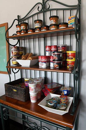 Items for sale at a honor system automat inside the Non Profit Center. (Billy Hefton / Enid News & Eagle)