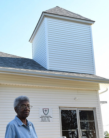 Rev. Bonell Fields, retired pastor at St. Stephen African Methodist Episcopal Church August 30, 2017.(Billy Hefton / Enid News & Eagle)