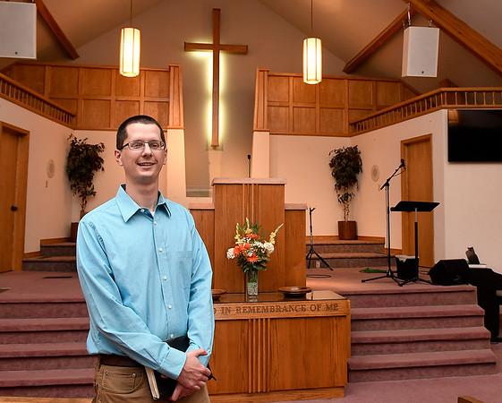 Lead Pastor Billy Benson, Garland Road Baptist Church. (Billy Hefton / Enid News & Eagle)