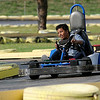 "Witten Isaiah negotiates an ""S"" curve at Comet Go Carts Sunday. (Staff Photo by BONNIE VCULEK)"