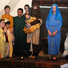 Fourth-fifth grade students at St. Joseph Catholic School portray Biblical characters during Act 2 of the Christmas program Tuesday, Dec. 17, 2013. (Staff Photo by BONNIE VCULEK)