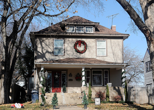 The Kenwood Historic District holiday tours features the home at 320 W. Elm Saturday, Dec. 9, 2013. Open houses will also be at Southard House Bed and Breakfast Inn, 518 W. Pine, and 412 W. Elm. (Staff Photo by BONNIE VCULEK)