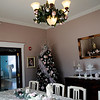 Christmas decorations adorn the formal dining room at Southard House Bed and Breakfast Inn, 518 W. Pine, Tuesday, Dec. 3, 2013. The Kenwood Historic District holiday tours will feature Southard House, 412 W. Elm and 320 W. Elm Saturday, Dec. 9, at 3:30 p.m. (Staff Photo by BONNIE VCULEK)