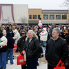 Thousands gather on the Garfield County courthouse lawn for the 10th annual Candy Cane Cash drawing Saturday, Dec. 14, 2013. A total of $15,000 was awarded during the event. (Staff Photo by BONNIE VCULEK)