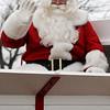 Bennie's Barn wagon rides with Santa Sunday, Dec. 21, 2014. (Staff Photo by BONNIE VCULEK)