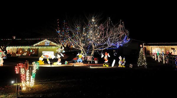 Felber Christmas (Staff Photo by BONNIE VCULEK)
