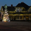 The Glidewell House at the Humphrey Heritage Village decorated for Christmas Thursday December 8, 2016. (Billy Hefton / Enid News & Eagle)