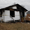 House at 709 E. Oklahoma that was destroyed by a fire Christmas Eve. (Billy Hefton / Enid News & Eagle)