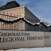 The Cherokee Strip Regional Heritage Center Monday, December 14, 2020. (Billy Hefton / Enid News & Eagle)