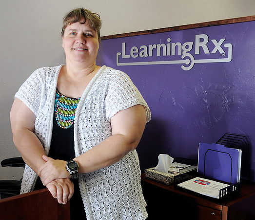 Kristal Randall, executive director/owner of LearningRx, recently opened her newest location at 2106 W. Willow. (Staff Photo by BONNIE VCULEK)