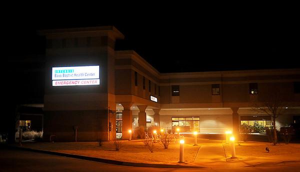 Integris Bass Baptist Health Center Emergency Center (Staff Photo by BONNIE VCULEK)