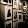 A section of the portrait wall is reserved for the famous from Enid. (Staff Photo by BONNIE VCULEK)