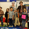 Adams Elementary School's 100th Day of School Centenarians (Staff Photo by BONNIE VCULEK)