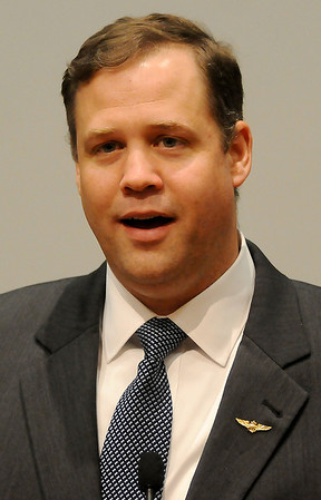 Congressman Jim Bridenstine (Staff Photo by BONNIE VCULEK)