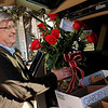 Paul Fossett delivers Valentine's Day arrangements for Enid Floral and Gifts Thursday, Feb. 13, 2014. (Staff Photo by BONNIE VCULEK)