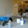Work continues on the interior of Marco's Pizza at Willow Plaza Wednesday, Feb. 19, 2014. The new Enid restaurant will open soon. (Staff Photo by BONNIE VCULEK)