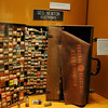 One of the new business and technology displays at the Cherokee Strip Regional Heritage Center features GEO. NEWTON Electronics. (Staff Photo by BONNIE VCULEK)