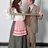 "Jill Patterson Phillips and Brett Wilenzick of the Gaslight Dinner production of ""The 39 Steps"". (Staff Photo by BILLY HEFTON)"