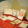 Victorian valentines, several dating back 100 years, will be on display at the Cherokee Strip Regional Heritage Center during a special history day Saturday, Feb. 8, 2014. (Staff Photo by BONNIE VCULEK)