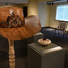 """Some of the pieces of artwork that will be on display during the Cherokee Strip Regional Heritage Center's fifth annual """"Trappings of the Cherokee Strip"""" show of fine art and custom cowboy gear. The show opens to the public on February 25 and remains open through Saturday, March 25. (Billy Hefton / Enid News & Eagle)"""
