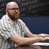 Oklahoma Bible Academy teacher Ryan Reese during an interview Friday February 17, 2017. (Billy Hefton / Enid News & Eagle)