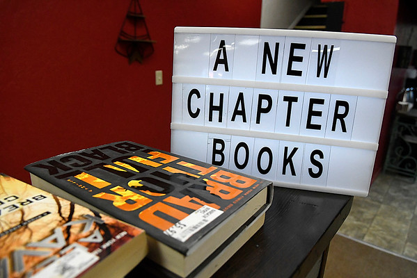 A New Chapter bookstore Monday February 5, 2018. (Billy Hefton / Enid News & Eagle)