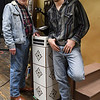 "Mike Kilman and Lane Gavitt of the Gaslight dinner theater production of ""Bus Stop"". (Billy Hefton / Enid news & Eagle)"
