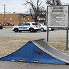 Enid Police Department is looking into building a shooting simulation facility where the Enid Skate Park currently sits. Commissioners will discuss the proposed shooting facility as well as potentially relocating the skate park. (Billy Hefton / Enid News & Eagle)
