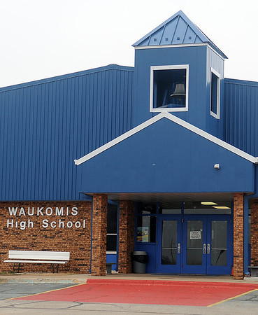 Waukomis Public Schools were under lock down after police notified them of a suspicious individual in the Drummond area, heading to the Pioneer School district Tuesday, Jan. 29, 2013. (Staff Photo by BONNIE VCULEK)