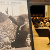 "A framed print of Dr. Martin Luther King, Jr.'s ""I Have A Dream"" speech appears at the entrance to the Convention Hall Grand Ballroom Sunday as the Holiday Commission hosts the 25th annual Dr. Martin Luther King, Jr. Holiday Celebration. (Staff Photo by BONNIE VCULEK)"